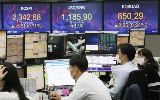 Seoul stocks open higher on US tech gains
