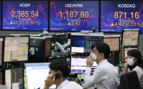Seoul stocks open higher on US rally, vaccine hopes