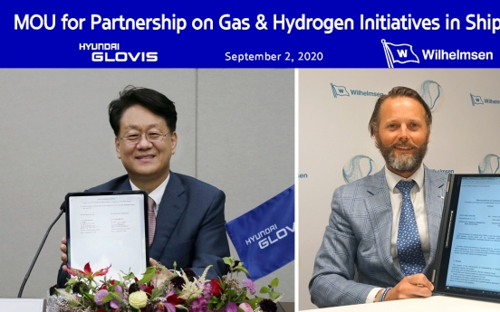 Hyundai Glovis partners with Norwegian firm for eco-friendly shipping business