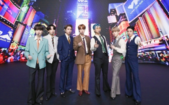 BTS impact spills over into Korean stock market