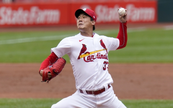 Cardinals' Kim Kwang-hyun enjoying string of luck in rookie MLB season