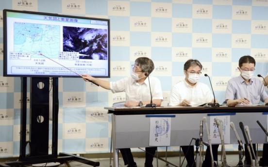 Typhoon Haishen poised to arrive in S. Korea next week