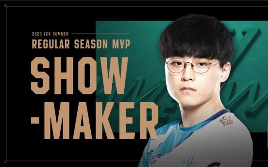ShowMaker sweeps LCK Awards