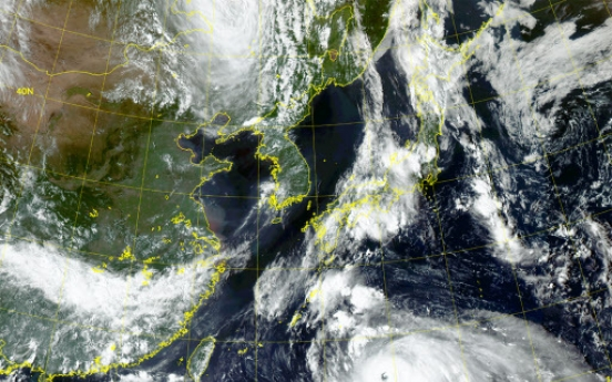 Typhoon Haishen changes course, likely to skirt Korea
