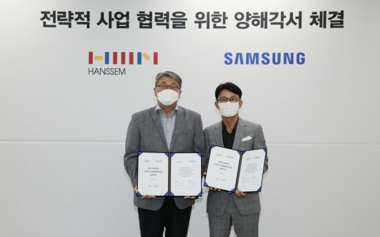 Samsung Electronics, Hanssem partner on housing interior