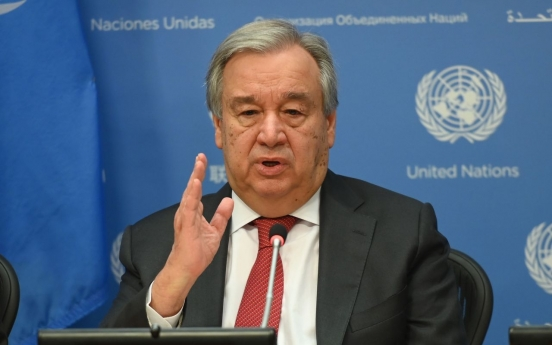 UN chief urges NK to resume stalled denuclearization talks
