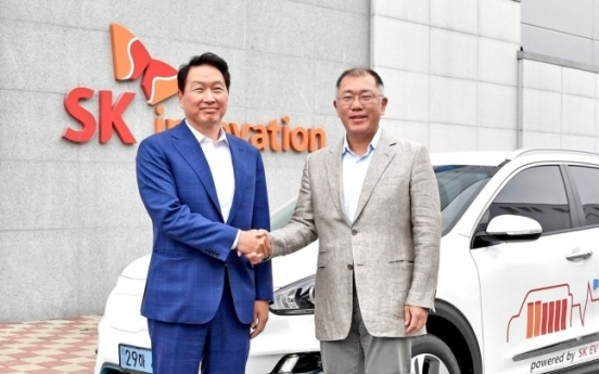 Hyundai Motor, SK Innovation to partner on EV battery ecosystem