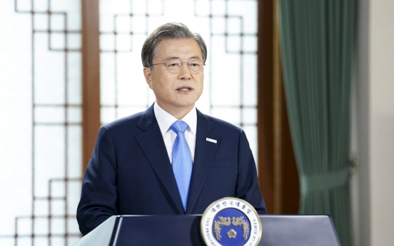 Moon vows to shut down 30 more coal plants to bring cleaner air and battle climate change