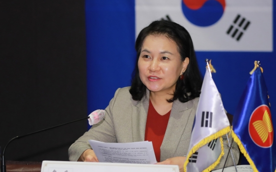 S. Korean trade minister heads to Paris to win support to become next WTO head