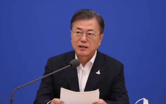 President Moon's approval rating falls amid another justice minister scandal