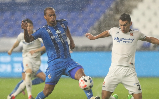 Bunched-up table setting up wild final stretch in K League football