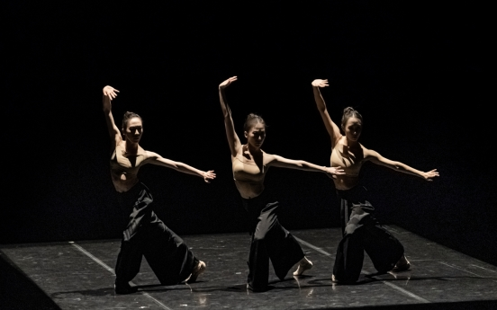 Korean soloist's ballet choreographing selected for Benois de la Danse's online project