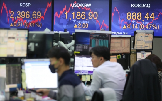 Seoul stocks almost flat on valuation concerns