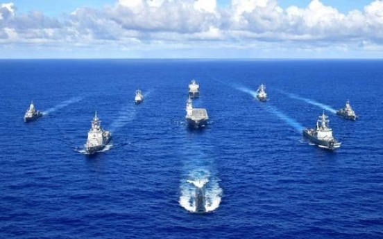 Navy joins US-led four-nation maritime exercise in Pacific