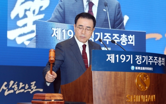 [Decoding Shareholders] Is Shinhan breaking ties with Korean-Japanese shareholders?
