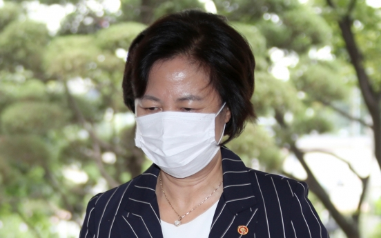 [Newsmaker] Justice minister apologizes over alleged power abuse scandal involving her son