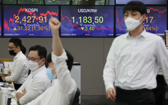 Seoul stocks rally on tech gains, eased virus curbs