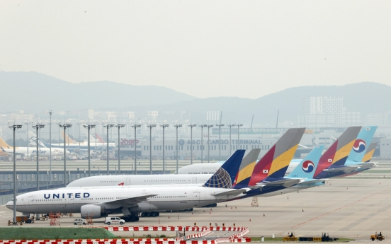 Airlines to levy no fuel surcharges on intl. routes in Oct.