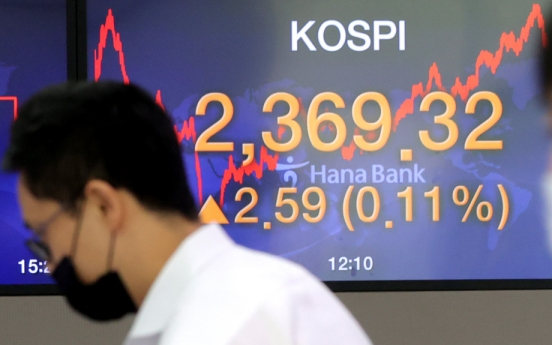 Seoul stocks open lower on Wall Street losses