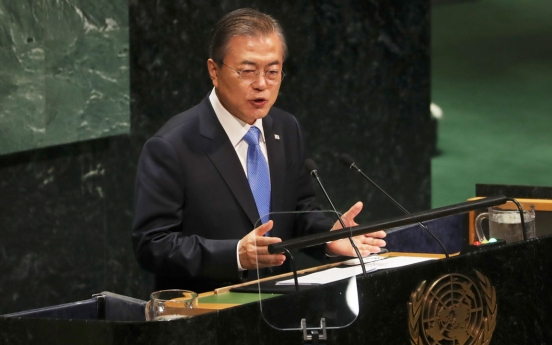 Moon to give video speech in virtual UN session next week