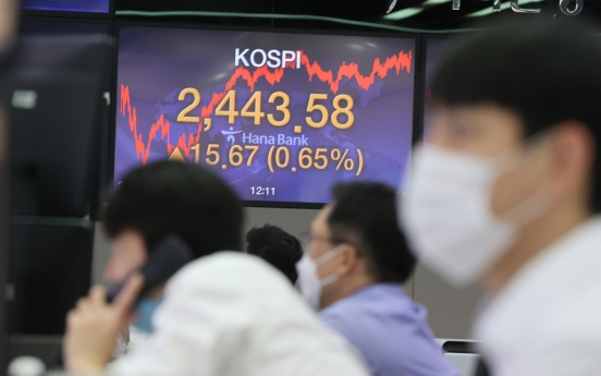Seoul stocks dip over 1% on profit-taking