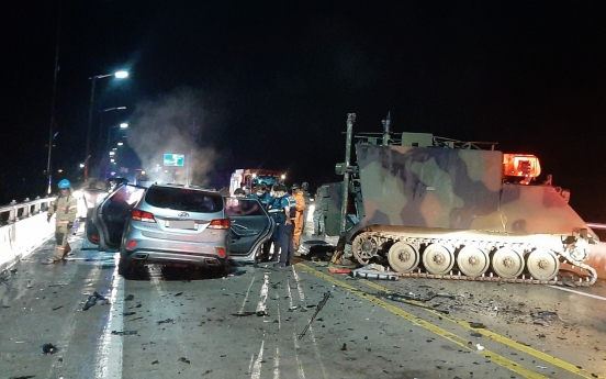 SUV driver drunk and speeding at time of crash into US military vehicle: police