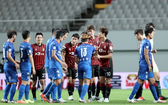 Changes at top, bottom of K League table looming