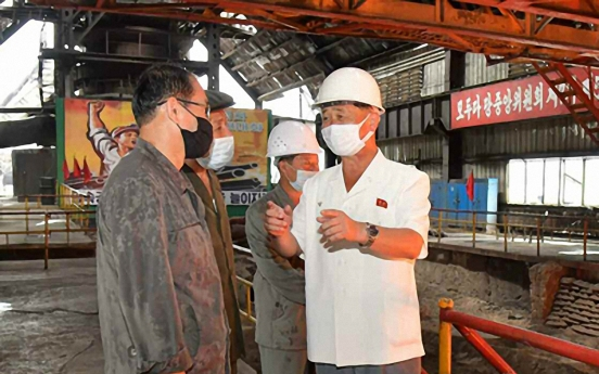NK premier visits industrial sites, urges increased production for typhoon recovery