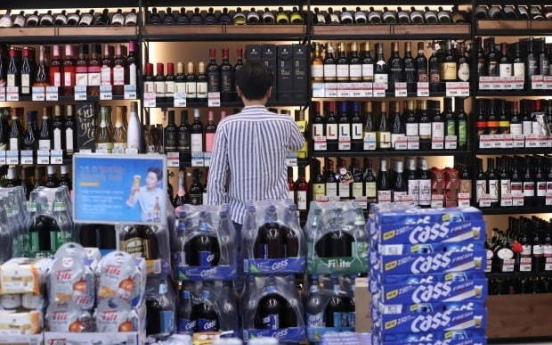 S. Koreans drink 8.5 days per month on average: poll