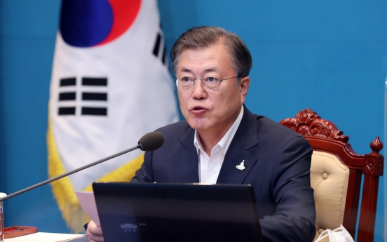 NK silent as Moon speaks of peace deal