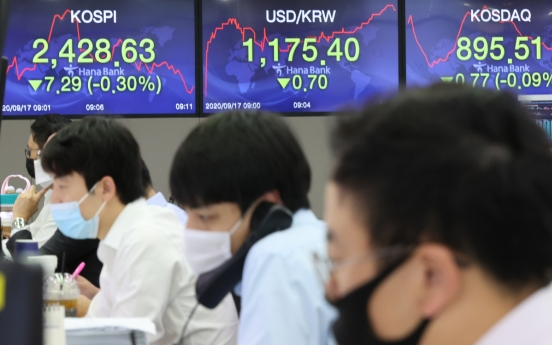 Seoul stocks open tad higher on chip, auto gains