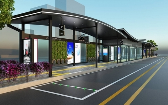 Seoul city to install hanok-style, high-tech bus stops