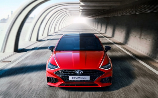 Hyundai reveals exterior design of 2021 Sonata N Line