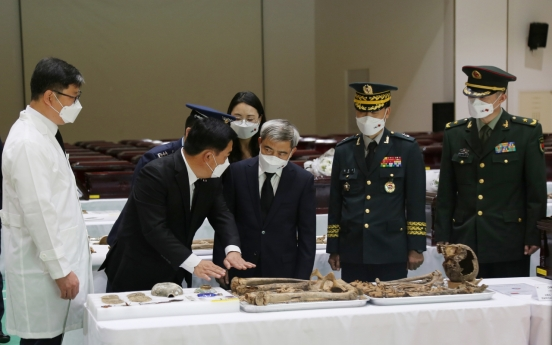 S. Korea to repatriate 117 sets of remains of Chinese troops