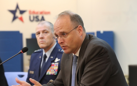Discussions on US intermediate missile deployment in S. Korea premature: US envoy