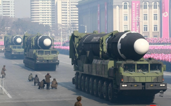 [Newsmaker] N. Korea seen moving intercontinental ballistic missile: report