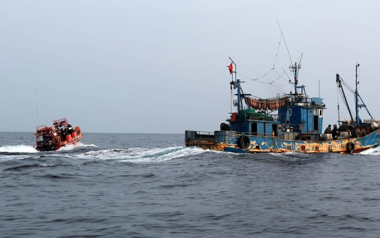 Illegal Chinese fishing in S. Korea grows increasingly unrestrained: lawmaker