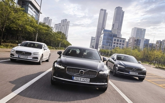[Behind the Wheel] Volvo S90 taps into Korea's cutthroat executive car market