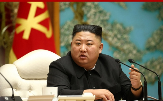 NK leader oversees politburo meeting to launch 80-day campaign for economic development