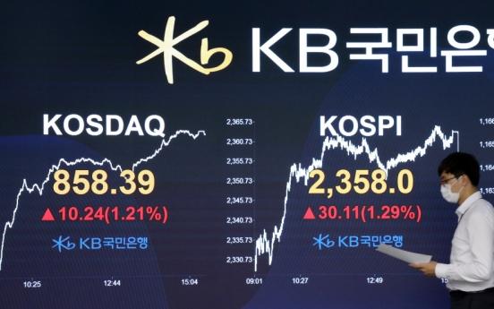 Seoul stocks set to extend winning streak on Trump's discharge from hospital, stimulus hopes