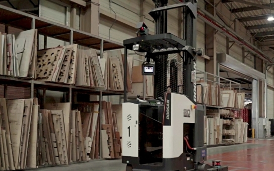 Doosan to expand presence in unmanned forklift market