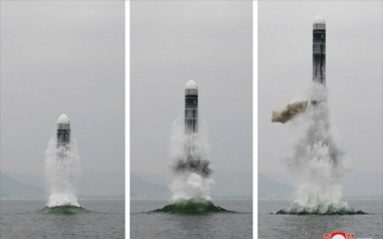 N. Korea's SLBM to complicate denuclearization efforts: ex-defense official