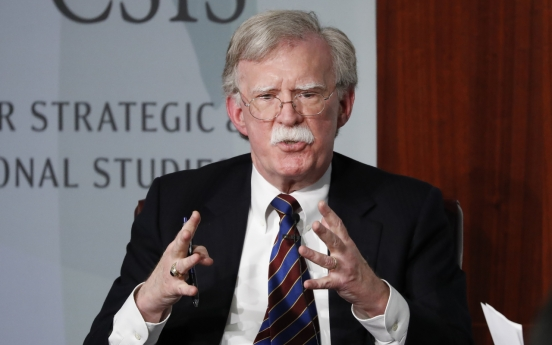 N. Korea has no intention of giving up nuclear weapons: Bolton