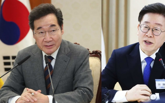 Ruling party head, Gyeonggi governor tied in poll of liberal presidential hopefuls