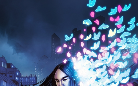 Steve Aoki, Tom Bilyeu harness webtoon power with 'Neon Future'