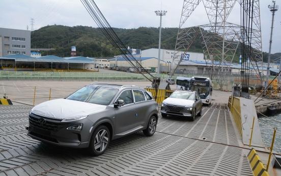 S. Korea lags behind in hydrogen charging infrastructure