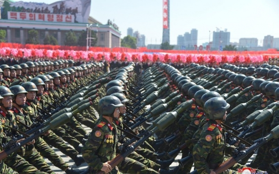 N. Korea could unveil new ICBM or SLBM in this week's military parade: unification ministry