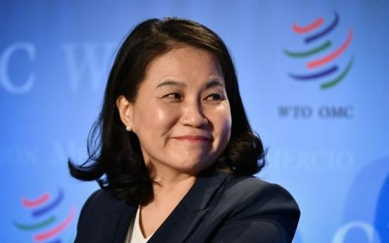 S. Korea's Yoo advances to final round in WTO leadership race