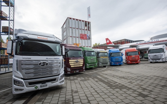 Hyundai Motor pushes for global expansion of hydrogen trucks
