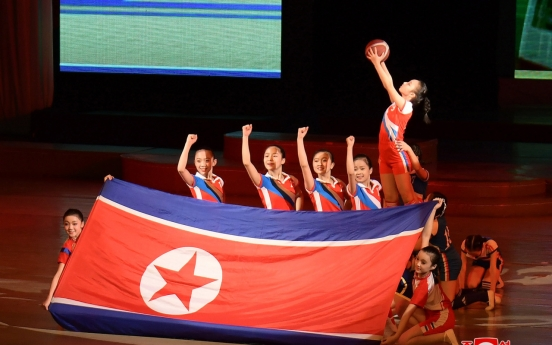 N. Korea to stage massive gymnastic shows this month to celebrate national holiday